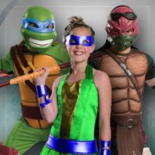 Ninja Turtles kostumer